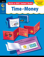 Build-a-Skill Instant Books: Time and Money (Grades 2-3)