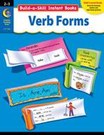 Build-a-Skill Instant Books: Verb Forms (Grades 2-3)