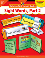 Build-a-Skill: Sight Words, Part 2