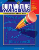 Daily Writing Warm-Ups: A Systematic Approach to Writing Practice (Grades 3-4)