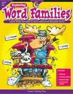 Exploring Word Families