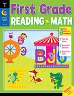 First Grade Reading and Math Jumbo Workbook