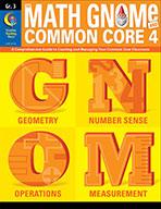 Grade 3 Math GNOMe and the Common Core 4 Resource Book, eBook