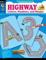 Highway Letters, Numbers, and Shapes
