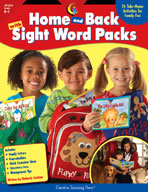Home and Back with Sight Word Packs