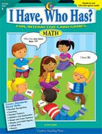 I Have, Who Has? Math: Kindergarten