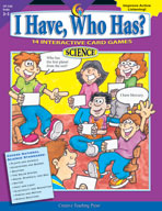 I Have, Who Has? Science: Grades 3-5