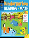 Kindergarten Reading and Math Jumbo Workbook