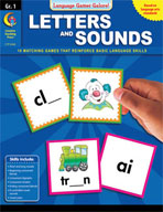 Language Games Galore! Letters and Sounds, Grade 1