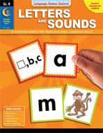 Language Games Galore! Letters and Sounds, Kindergarten