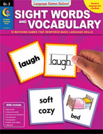 Language Games Galore! Sight Words and Vocabulary, Grade 2
