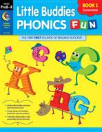 Little Buddies Phonics Fun, Book 1: Consonants