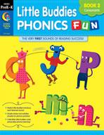 Little Buddies Phonics Fun, Book 2: Consonants