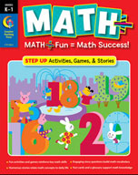 MATH PLUS: Step Up (Kindergarten-Grade 1)