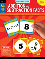Math Games Galore: Addition and Subtraction Facts (Grade 1)