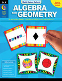 Math Games Galore: Algebra and Geometry (Kindergarten)
