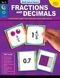 Math Games Galore: Fractions and Decimals (Grade 3)