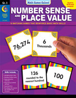 Math Games Galore: Number Sense and Place Value (Grade 3)