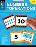 Math Games Galore: Numbers and Operations (Kindergarten)