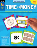 Math Games Galore: Time and Money (Kindergarten)