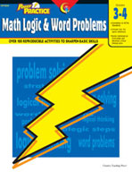 Power Practice Math Logic and Word Problems (Grades 3-4)