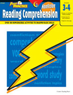 Power Practice Nonfiction Reading Comprehension (Grades 3-4)