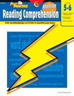 Power Practice Nonfiction Reading Comprehension (Grades 5-6)