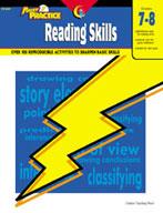 Power Practice Reading Skills (Grades 7-8)
