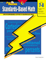 Power Practice Standards-Based Math (Grades 7-8)