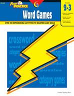 Power Practice Word Games (Grades 2-3)