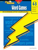 Power Practice Word Games (Grades 4-5)