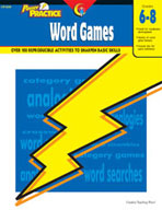 Power Practice Word Games (Grades 6-8)