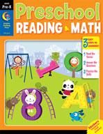 Preschool Reading and Math Jumbo Workbook