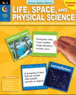 Science Games Galore! - Life, Space, and Physical Science (Grade 3)