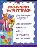 Teaching Beginning Writing