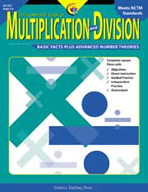 The Complete Book of Multiplication and Division Grade 4-6