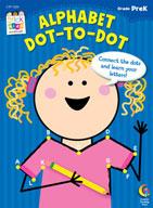 Alphabet: Dot-to-Dot Stick Kids Workbook: PreKindergarten