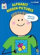 Alphabet Hidden Pictures Stick Kids Workbook: PreKindergarten