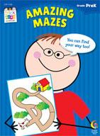Amazing Mazes Stick Kids Workbook: PreKindergarten