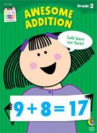 Awesome Addition Stick Kids Workbook: Grade 2