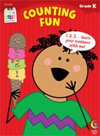 Counting Fun Stick Kids Workbook: Kindergarten