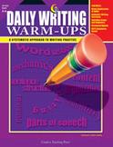 Daily Writing Warm-Ups Grades 5-6 (Enhanced eBook)