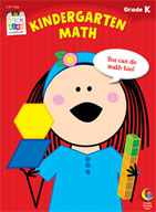 Kindergarten Math Stick Kids Workbook