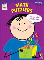 Math Puzzlers Stick Kids Workbook: Grade 1