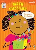 Math Puzzlers Stick Kids Workbook: Grade 3