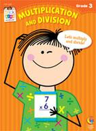 Multiplication and Division Stick Kids Workbook: Grade 3