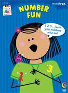 Number Fun Stick Kids Workbook: PreKindergarten