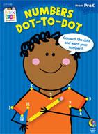 Numbers: Dot-to-Dot Stick Kids Workbook: PreKindergarten