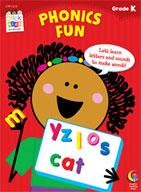 Phonics Fun Stick Kids Workbook: Kindergarten