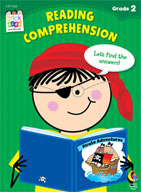 Reading Comprehension Stick Kids Workbook: Grade 2